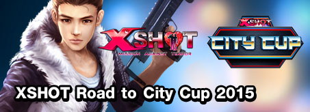 XSHOT Road to City Cup 2015